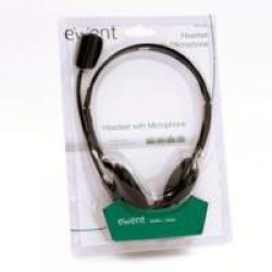 Ewent EW3563 headphones/headset Hoofdband Zwart