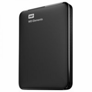 Western Digital Elements Portable 2.5 Inch externe HDD 1TB, Zwart