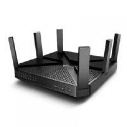 TP-LINK Archer C4000 draadloze router Tri-band (2.4 GHz / 5 GHz / 5 GHz) Gigabit Ethernet Zwart