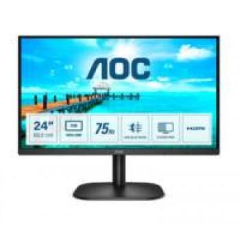 "AOC Basic-line 24B2XHM2 computer monitor 60,5 cm (23.8"") 1920 x 1080 Pixels Full HD LCD Zwart"