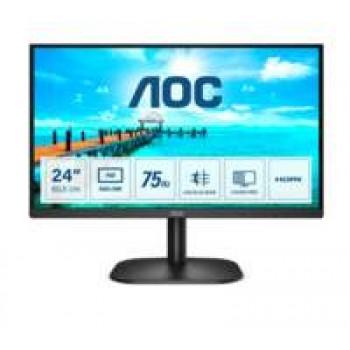 "AOC Basic-line 24B2XDM computer monitor 60,5 cm (23.8"") 1920 x 1080 Pixels Full HD LCD Zwart"