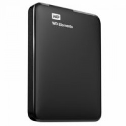 Western Digital Elements Portable 2.5 Inch externe HDD 2TB, Zwart
