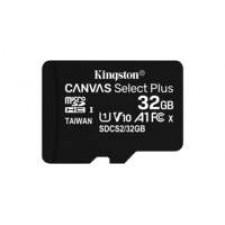 Kingston Technology Canvas Select Plus flashgeheugen 32 GB MicroSDHC UHS-I Klasse 10