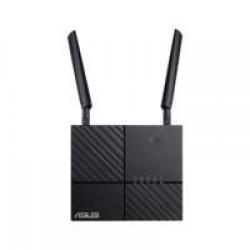 ASUS 4G-AC53U draadloze router Dual-band (2.4 GHz / 5 GHz) Gigabit Ethernet 3G Zwart