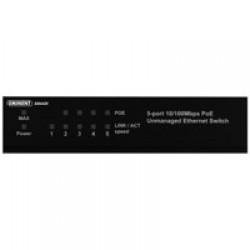Eminent EM4430 netwerk-switch Unmanaged Fast Ethernet (10/100) Zwart Power over Ethernet (PoE)