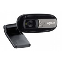 Logitech C170 webcam 5 MP 640 x 480 Pixels USB 2.0 Zwart