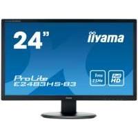 "iiyama ProLite E2483HS-B3 LED display 61 cm (24"") Full HD Flat Mat Zwart"