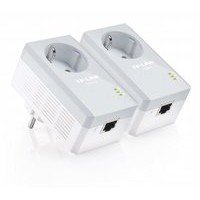 TP-Link AV500 Powerline adapterkit geïntegreerd stopcontact