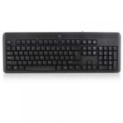 Ewent EW3107 toetsenbord USB QWERTY Engels Zwart