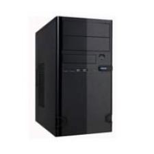 """Case 727-22 Black 450Watt M-ATX USB 3.0 """"Steel Brushed"""""""