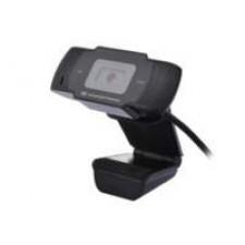 Conceptronic AMDIS 720P HD webcam 1280 x 720 Pixels USB 2.0 Zwart