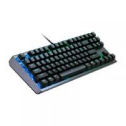 Cooler Master Gaming CK530 toetsenbord USB QWERTY Amerikaans Engels Zwart, Roestvrijstaal