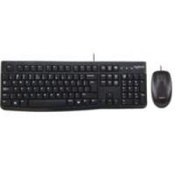 Logitech Ret. Wired Desktop MK120