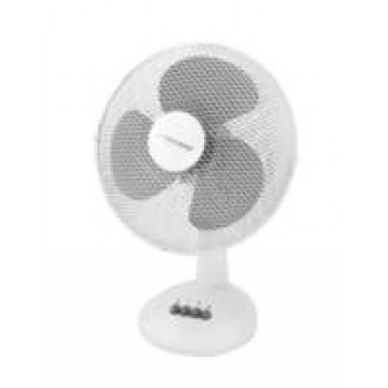 Esperanza Desk Cooling Fan / Ventilator 12inch Wit
