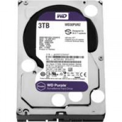 HDD WD Purple™ 3TB IntelliPower - 64MB - SATA-600