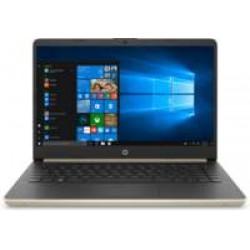 HP 14-DQ Pale Gold 14Inch / HD i3-1005G / 4GB / 128GB / W10H