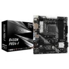 Asrock B450M Pro4-F AMD B450 Socket AM4 micro ATX