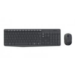 Logitech Ret. Wireless Desktopset Keyboard  + Mouse / RFG