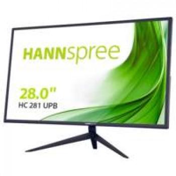 "Hannspree HC 281 UPB 71,1 cm (28"") 3840 x 2160 Pixels 4K Ultra HD Zwart"