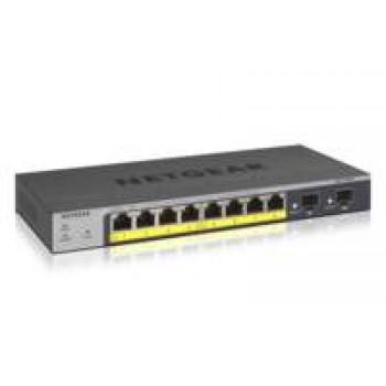 Netgear GS110TP Managed L2/L3/L4 Gigabit Ethernet (10/100/1000) Grijs Power over Ethernet (PoE)