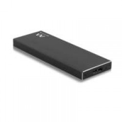 Ewent EW7023 SSD enclosure Zwart opslagbehuizing