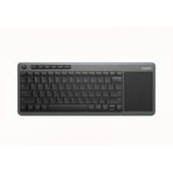 Rapoo K2600 Smart TV Touchpad Wireless Keyboard - Grey