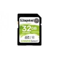 Kingston Technology Canvas Select flashgeheugen 32 GB SDHC Klasse 10 UHS-I