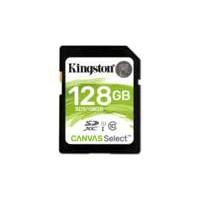 Kingston Technology Canvas Select flashgeheugen 128 GB SDXC Klasse 10 UHS-I