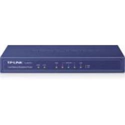 TP-LINK TL-R470T+ bedrade router Fast Ethernet Zwart