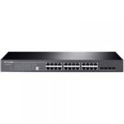 TP-LINK T1700G-28TQ Managed L2+ Gigabit Ethernet (10/100/1000) Zwart