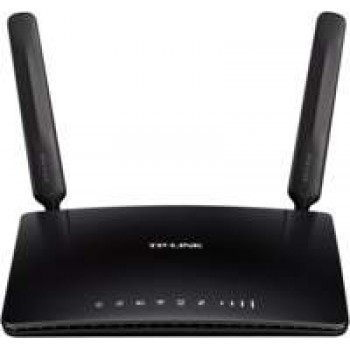 TP-LINK TL-MR6400 draadloze router Single-band (2.4 GHz) Fast Ethernet 3G 4G Zwart