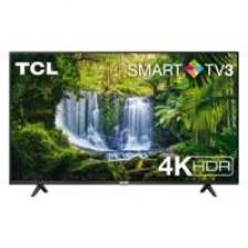 TV TCL 55P610 55inch 4K Ultra HD Smart TV Wi-Fi Zwart/ RENEW