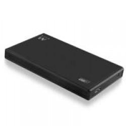 "Ewent EW7032 HDD-/SSD-behuizing 2.5"" Zwart opslagbehuizing"