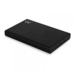 "Ewent EW7044 HDD-/SSD-behuizing 2.5"" Zwart opslagbehuizing"