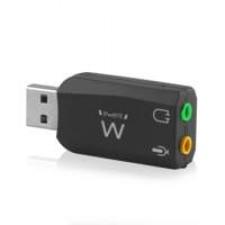 Ewent EW3751 geluidskaart 5.1 kanalen USB