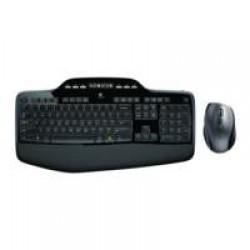 Logitech Ret. Cordless Desktop MK710 US International