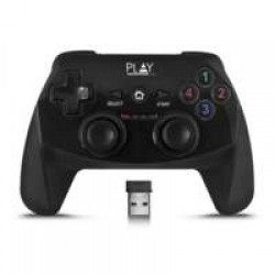 Play PL3331 game controller Gamepad PC, Playstation 3 Zwart