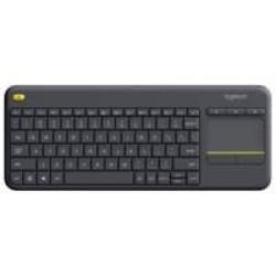 Logitech K400 Plus toetsenbord RF Draadloos QWERTY Nederlands Zwart