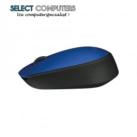 Logitech M171 muis RF Wireless Optical 1000 DPI Ambidextrous blauw